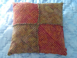 Chenille patchwork