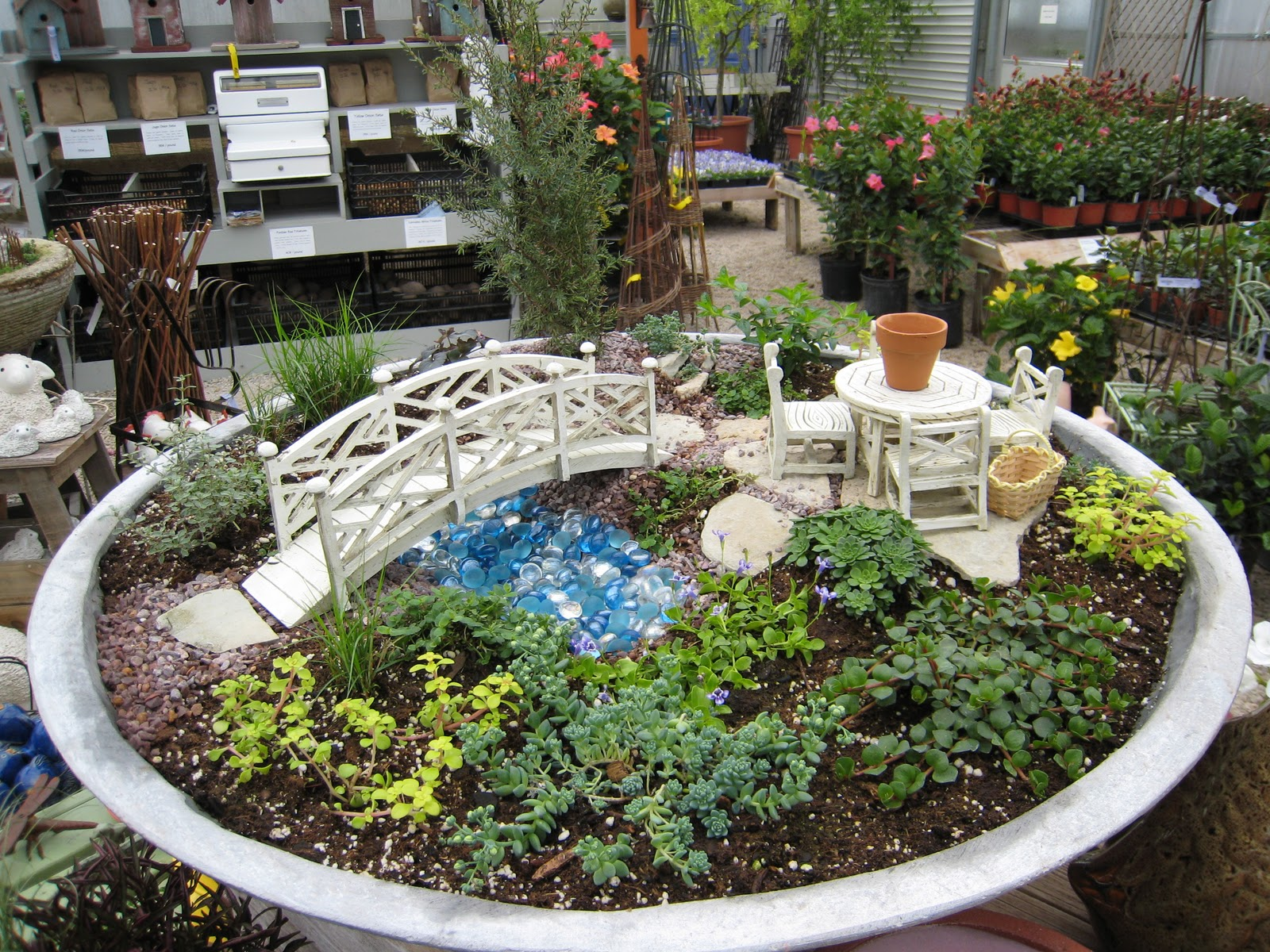 Landscape ideas from me landscaping fountain 38lx for sale for Mini garden landscape