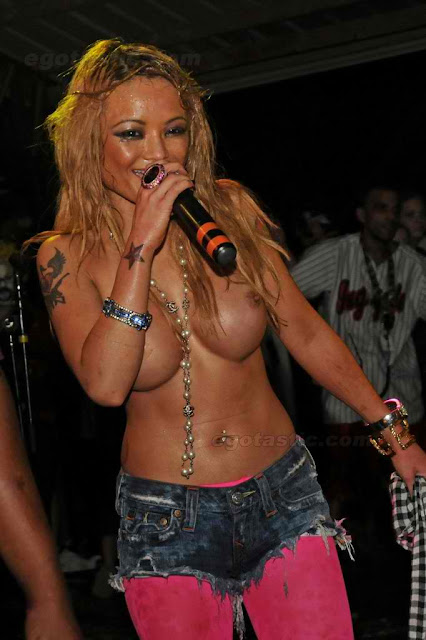 Nip Slip Of The Year! Tila Tequila Does ANYTHING To Sell Concert
