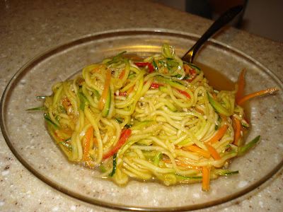 Raw food punk eating healthy with easy raw food recipes raw sesame noodle recipe forumfinder Image collections