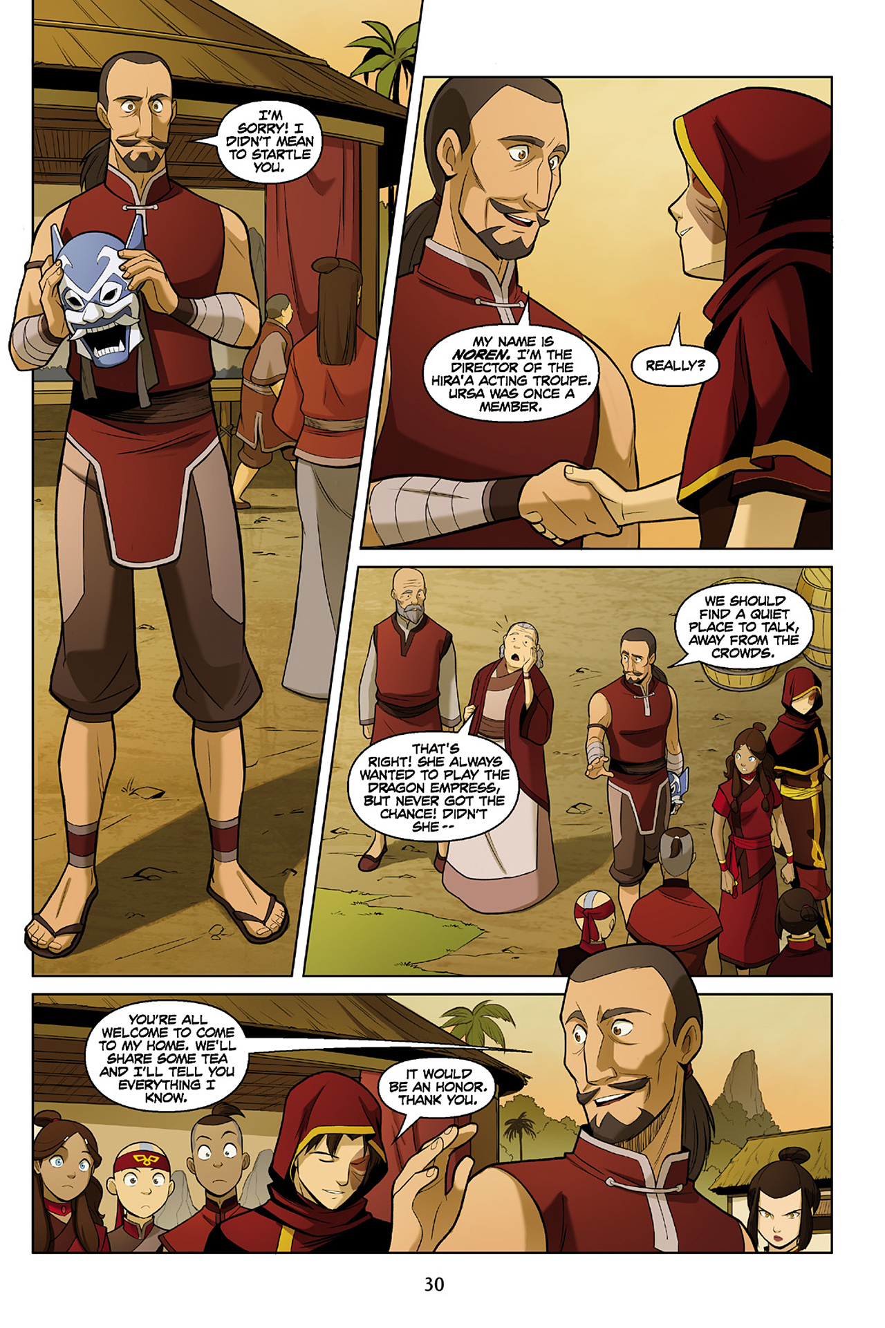 Read online Nickelodeon Avatar: The Last Airbender - The Search comic -  Issue # Part 2 - 31