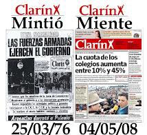 Clarín MIENTE, TN Todo Negativo...