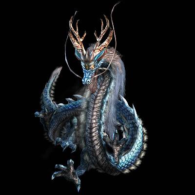 Neuresera Black Dragon Wallpaper