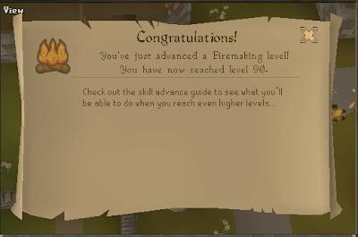 I Will Continue Until Got Level 92 Firemaking For Beacon Network Minigame Reward Inferno Cya