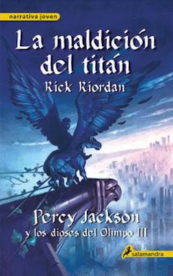 Percy Jackson y los dioses del Olimpo: la maldición del titán 9788498382921