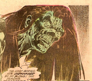 Swamp Thing in a wig