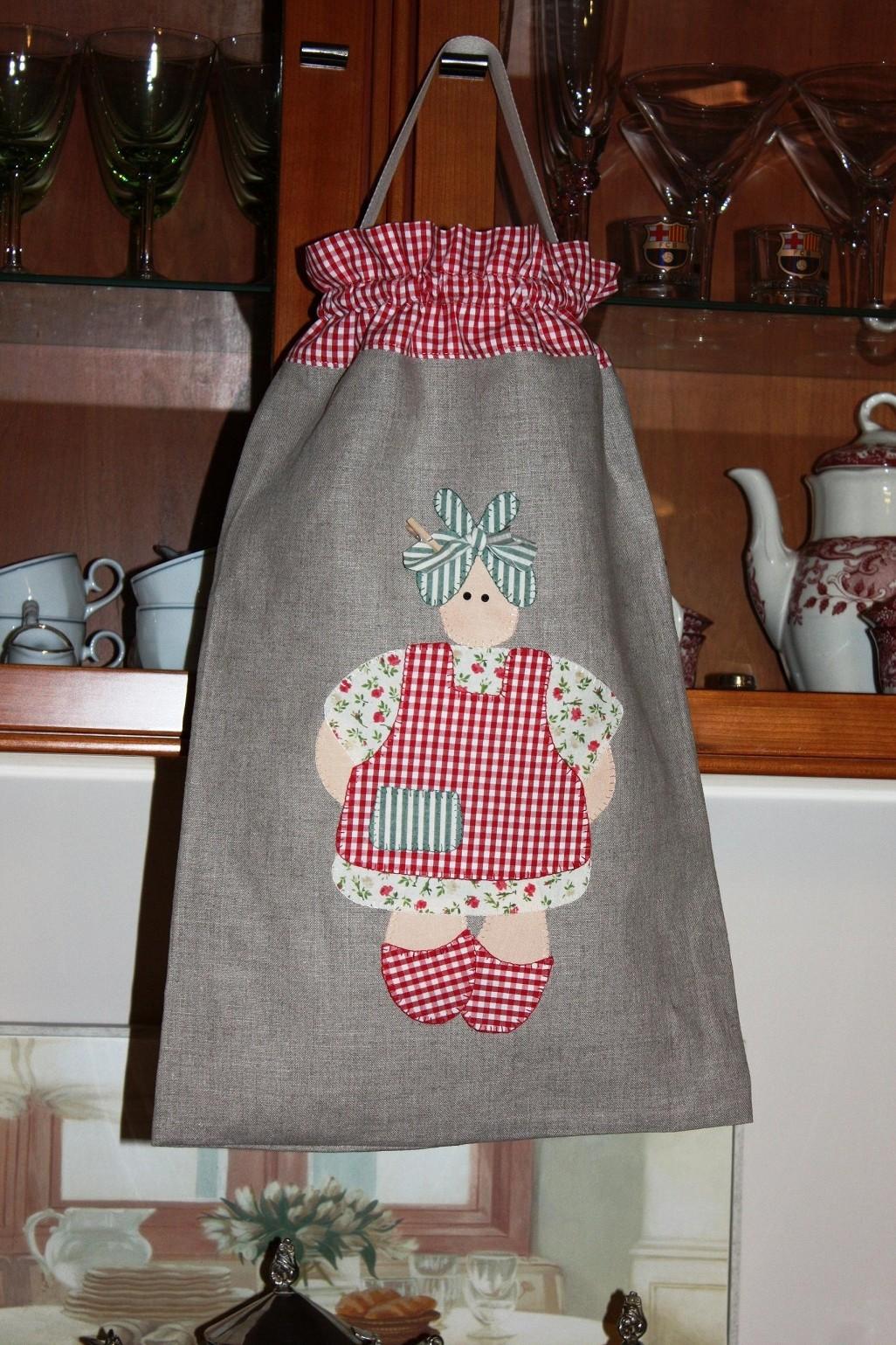 Manualidades quilting y patchwork bolso para guardar - Manualidades patchwork bolsos ...