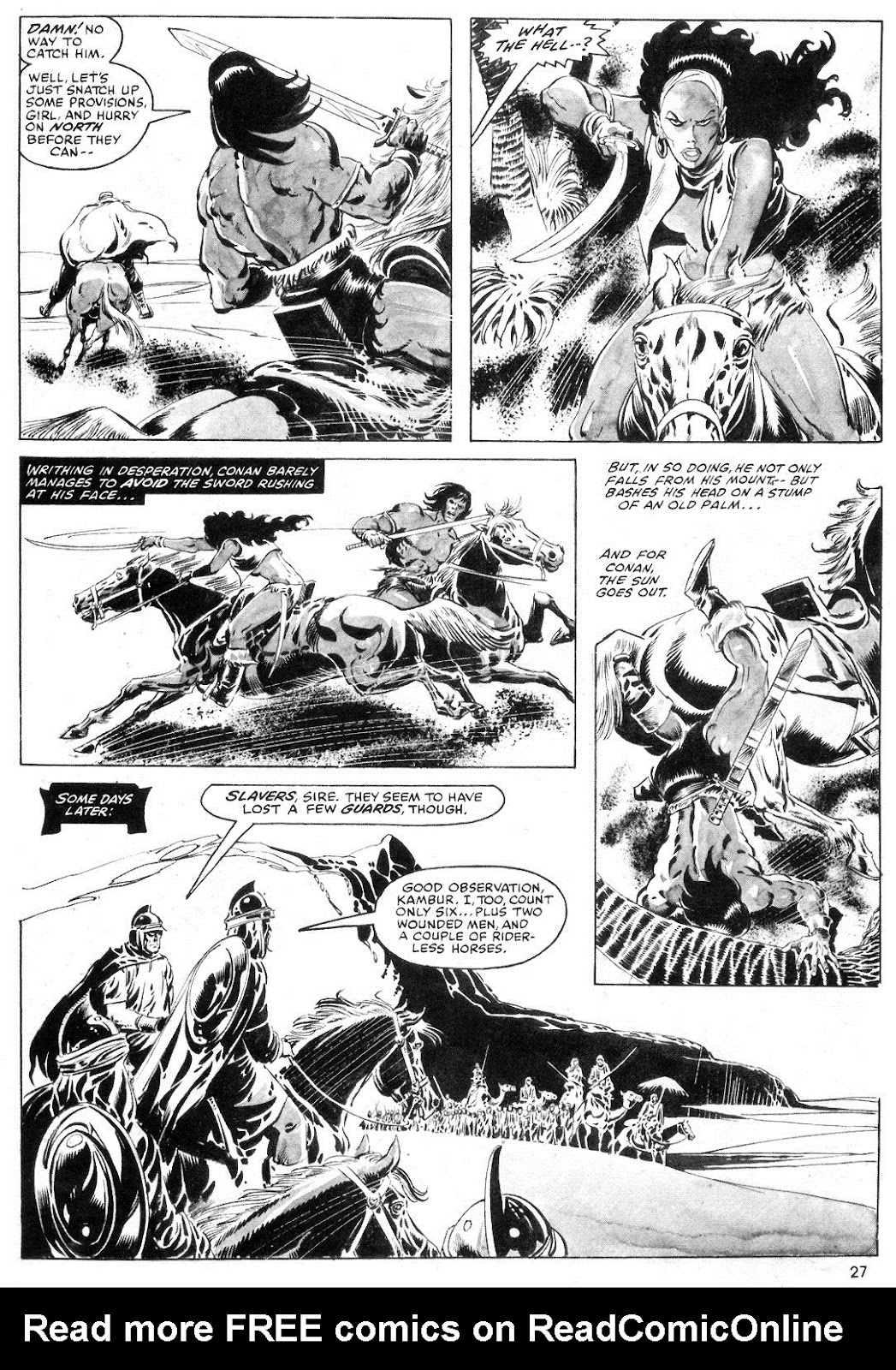 The Savage Sword Of Conan Issue #55 #56 - English 27