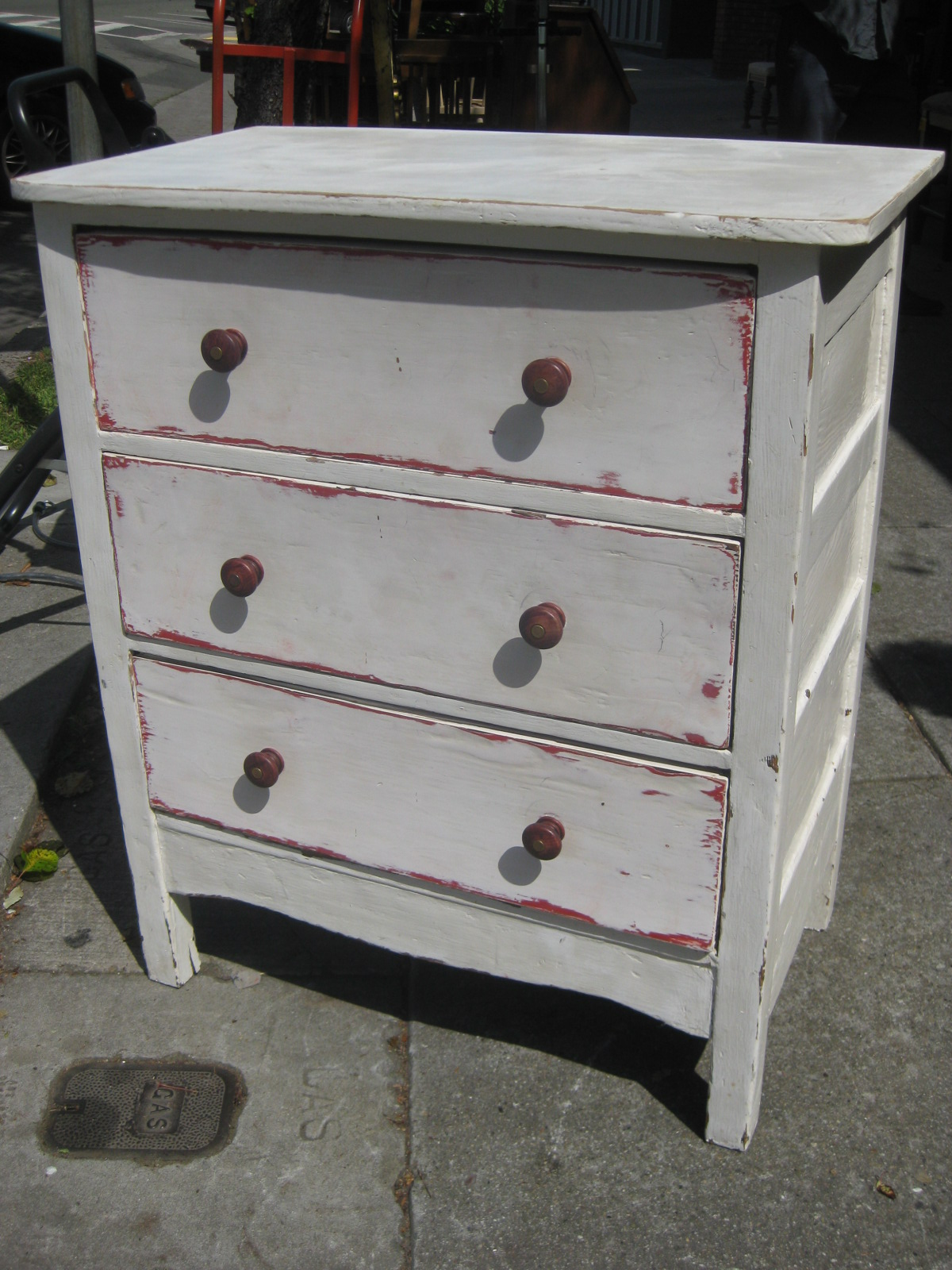 UHURU FURNITURE & COLLECTIBLES: SOLD - Shabby Chic Chest of