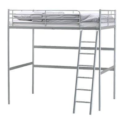 uhuru furniture collectibles sold ikea tromso metal loft bed 75. Black Bedroom Furniture Sets. Home Design Ideas