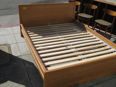 Ikea Bedding Queen on Uhuru Furniture   Collectibles  Sold   Queen Platform Bed   125