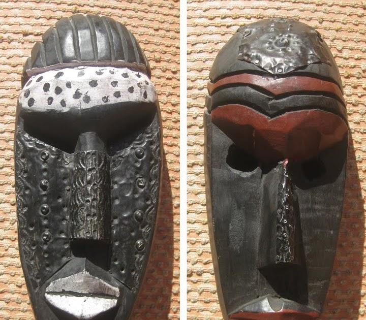 Uhuru Furniture Amp Collectibles Sold African Masks 25 Each