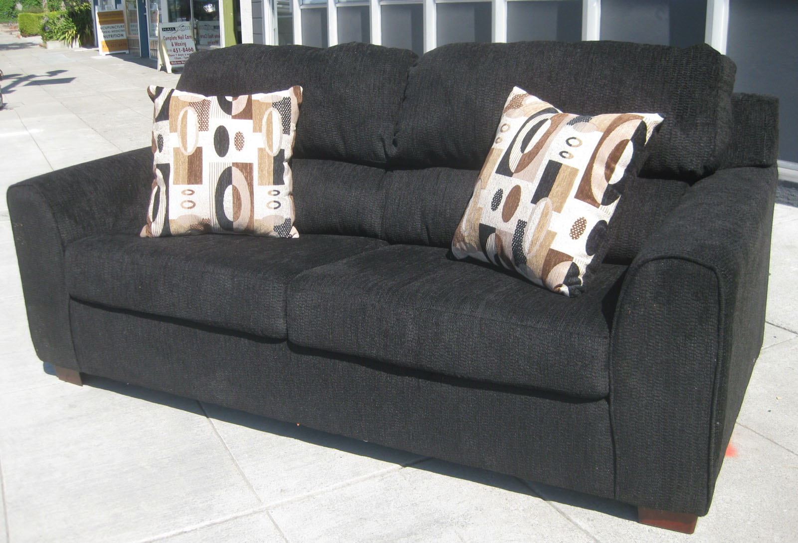 Uhuru Furniture Collectibles Sold Brand New Sofabed