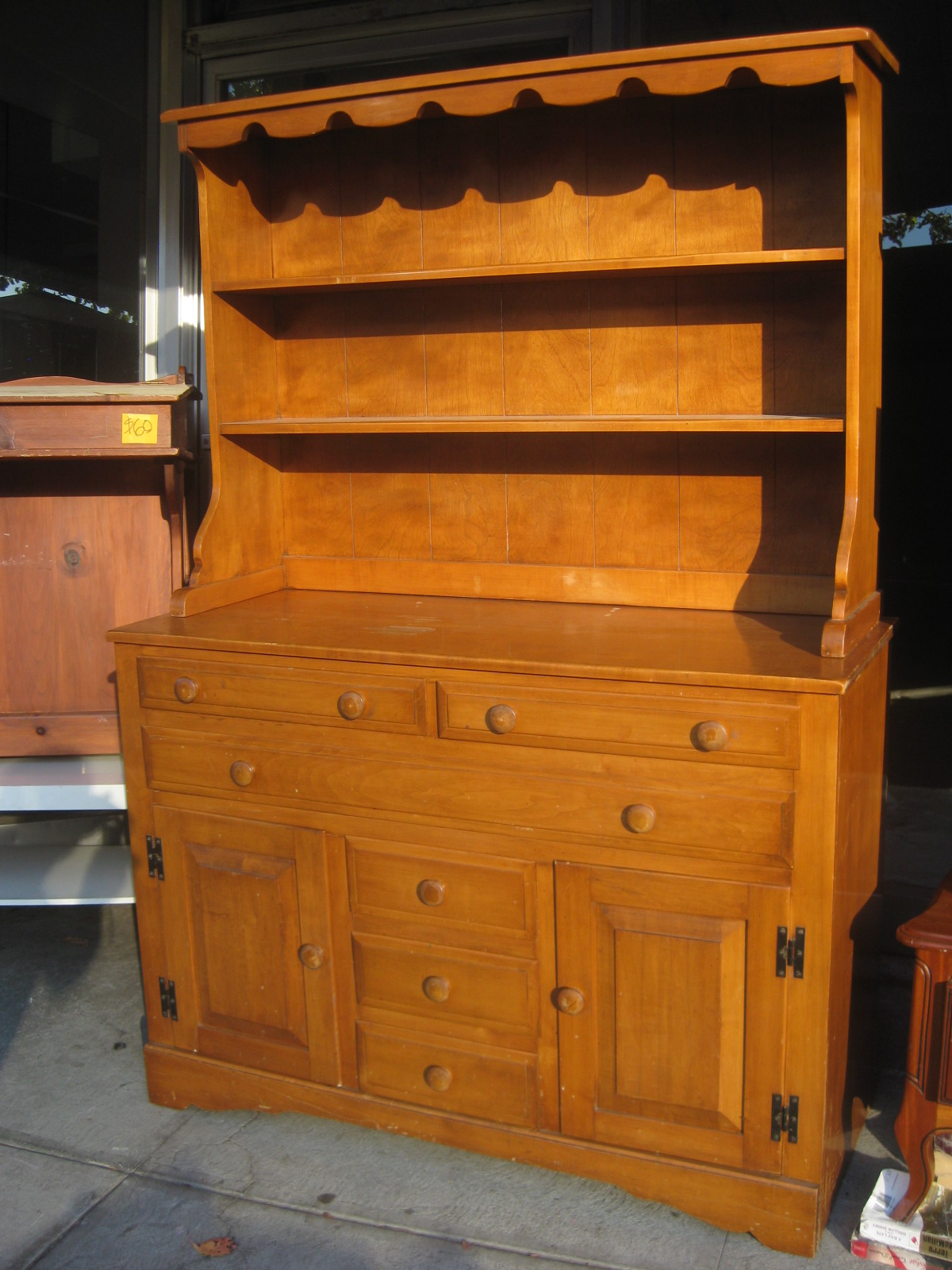 Uhuru furniture collectibles sold maple dining room for A dining room hutch