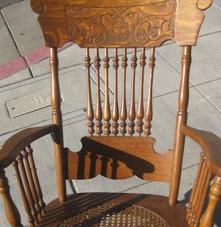 uhuru furniture collectibles sold antique rocking chair 100