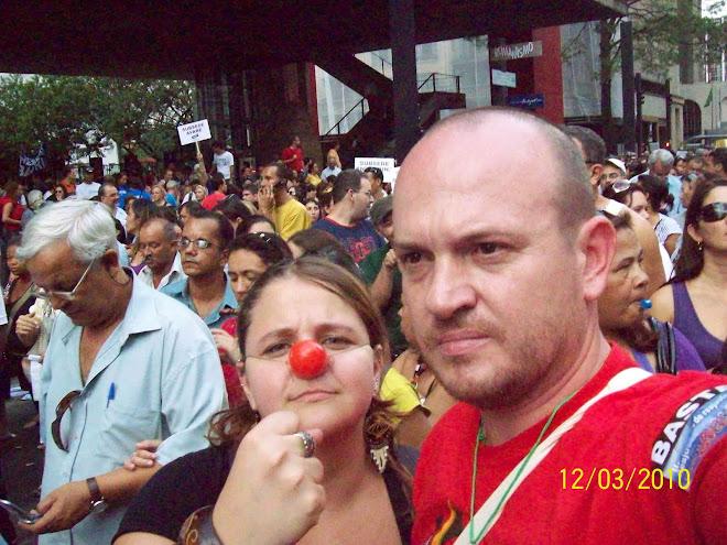 Mobilização na Paulista