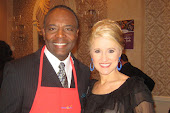 With Beasley Reece (CBS Sports Anchor) at Dishes for Wishes