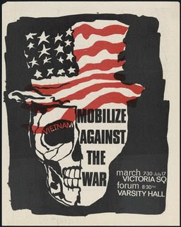 anti war movement posters in