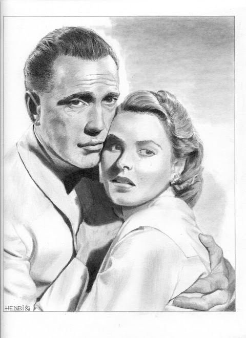 Humphrey Bogart & Ingrid Bergman