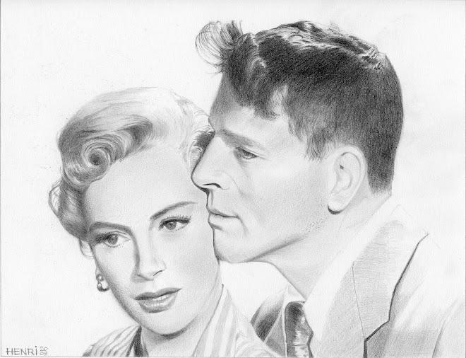 Deborah Kerr et Burt Lancaster