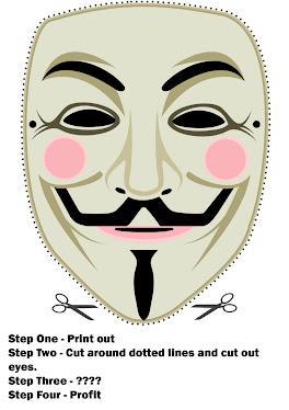 mascara anonymus