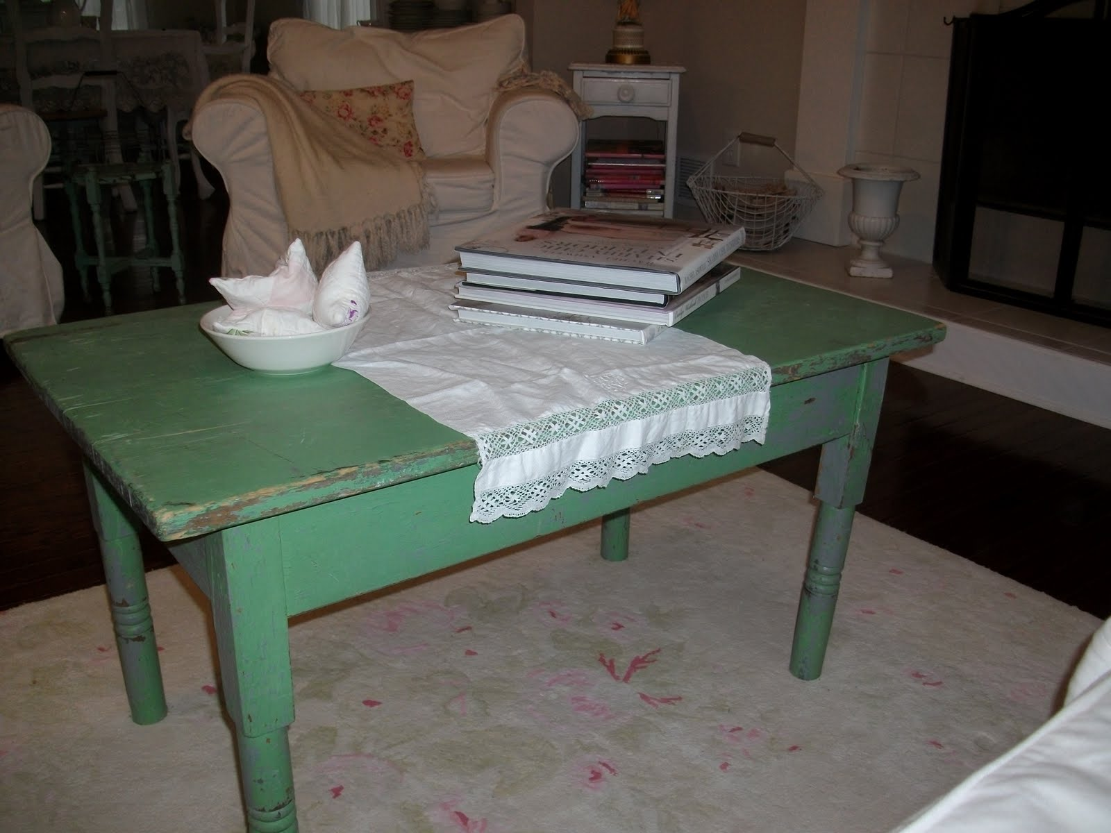 Anything Shabby Chic A new coffee table