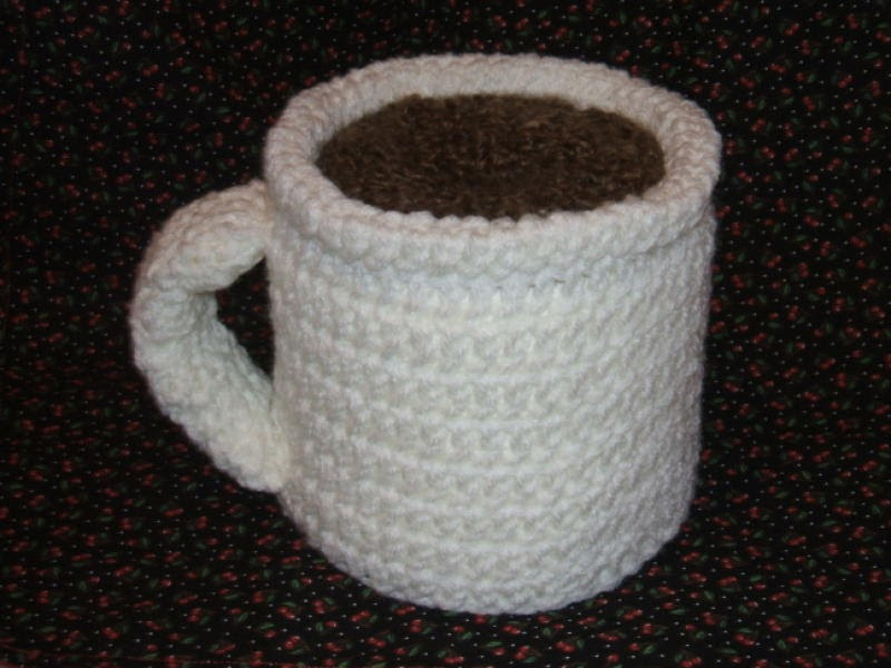The Left Side of Crochet: Cup O Joe TP Cover/Cozy