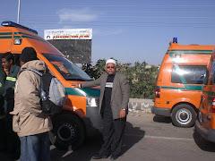 Ambulan pun dihalang masuk ke Gaza