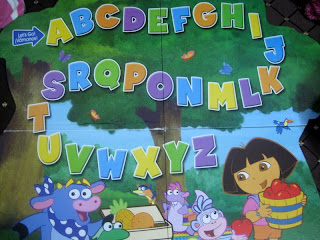 Dora ABC game