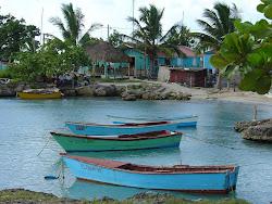 Barche al porto di Bayahibe