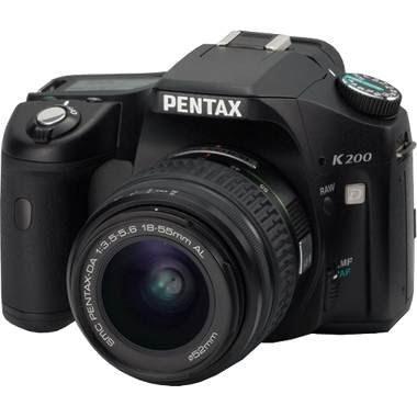 Pentax K200D SLR Digital Camera