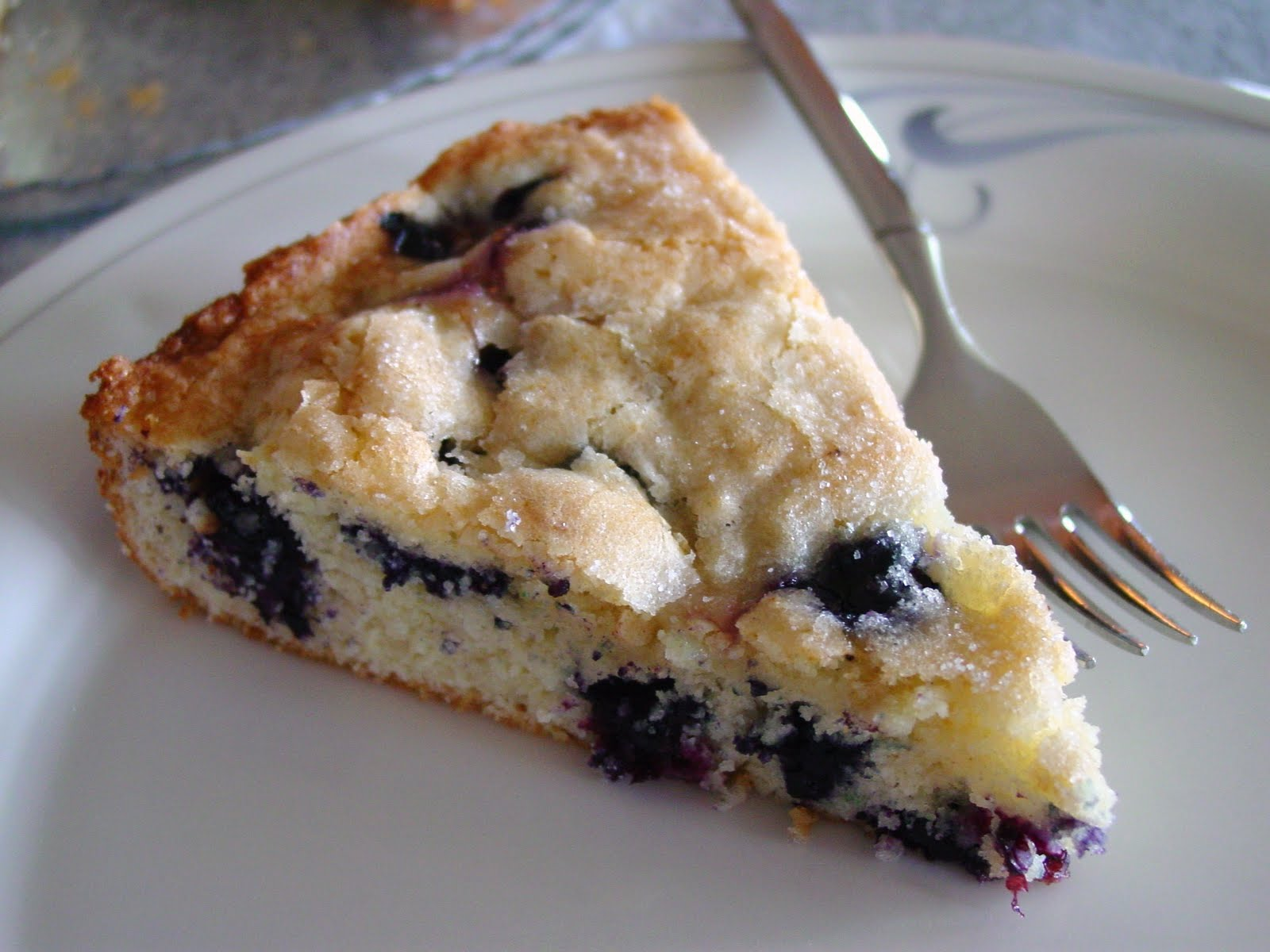 Lick The Bowl Good: Happy Father's Day and Blueberry Cake