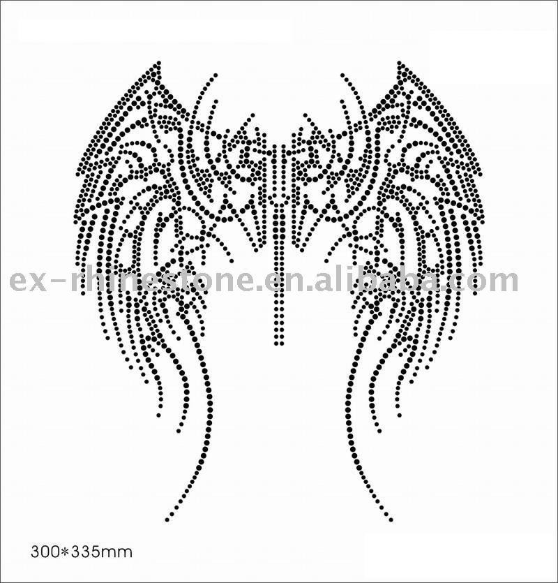 angel wings tattoos. angel wings tattoos.