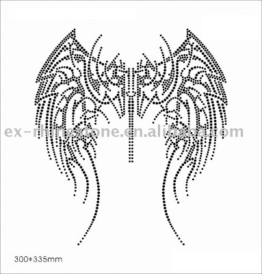 tattoos of angel wings. Tribal Tattoos of Angel Wings