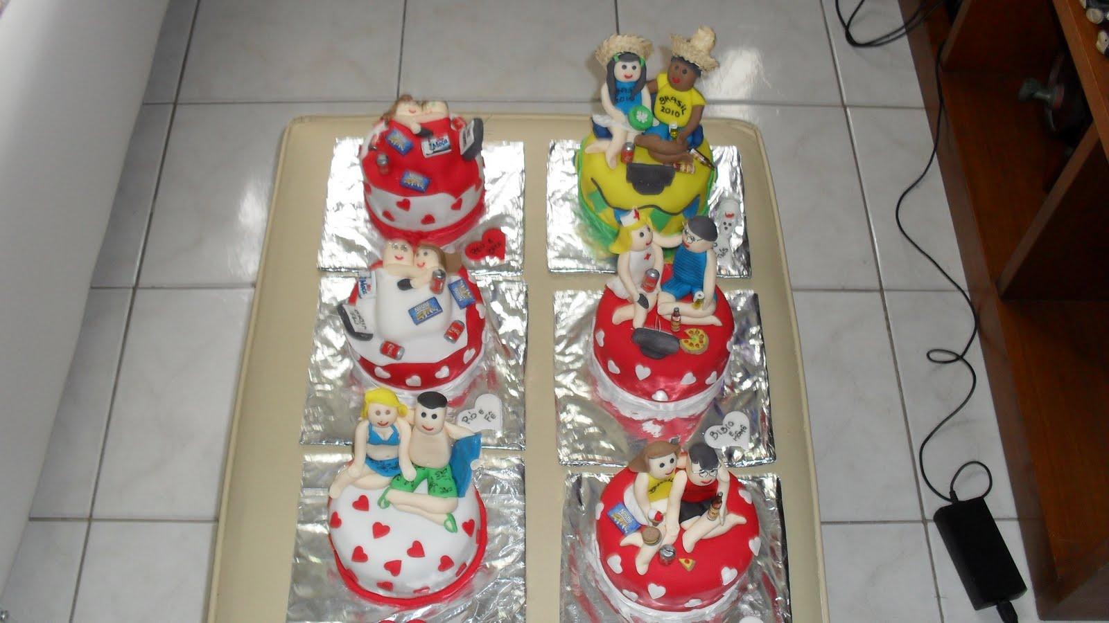 Mini bolos personalizados