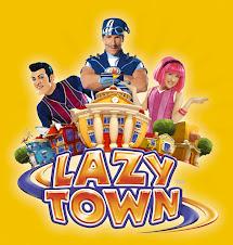 Letras de canciones de Lazy town