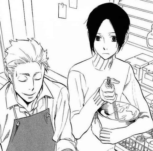 Omh... Yoite y mi futuro suegro cocinando... O///O
