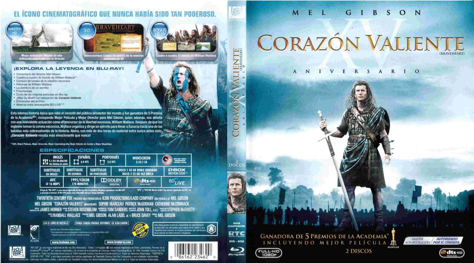 Corazon valiente 1995 1080p mkv dual identi Corazon valiente pelicula