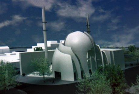 masjid raya di kota cologne jerman