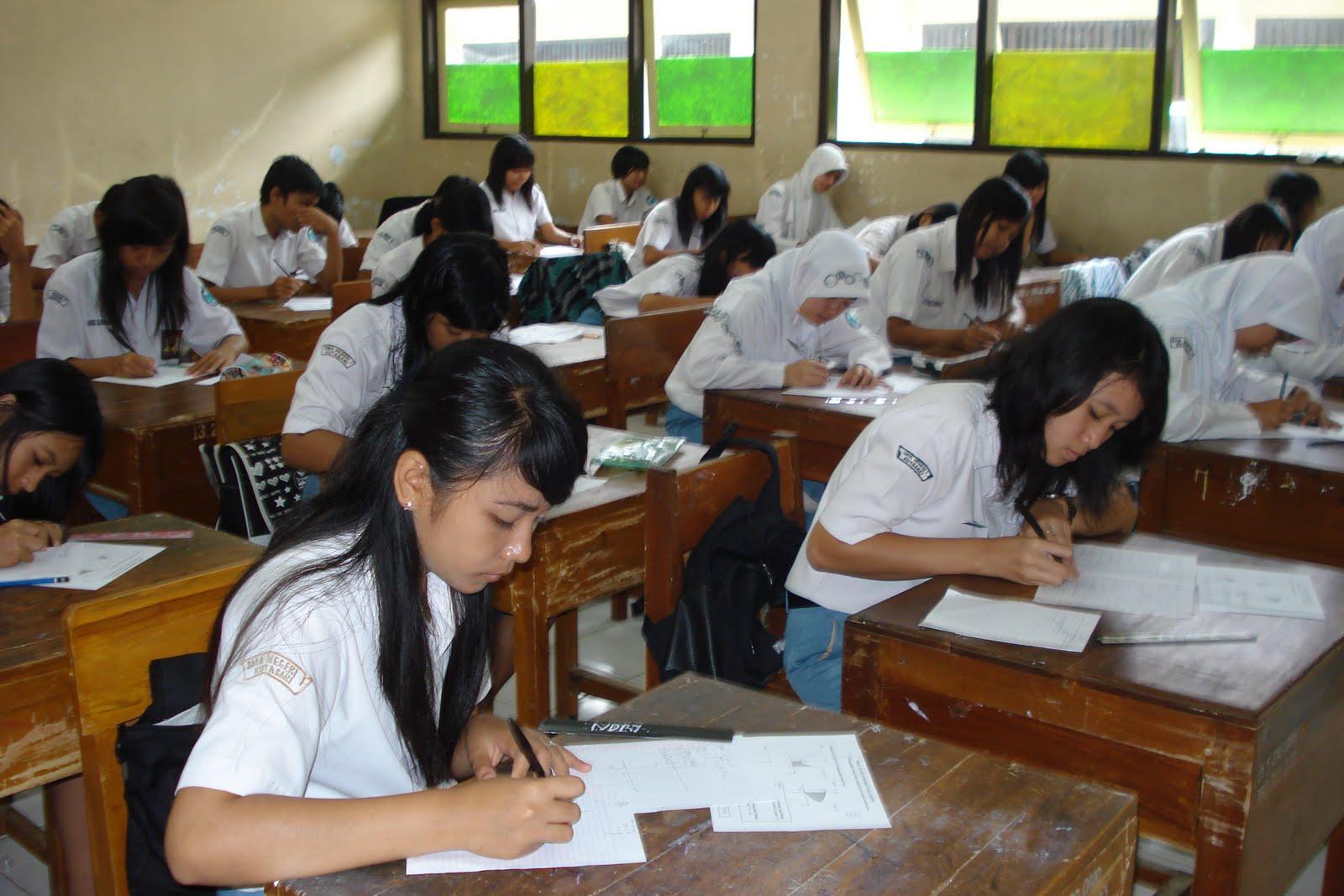 Suasana Ujian Nasional