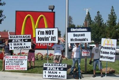 from Fisher mcdonalds gay agenda