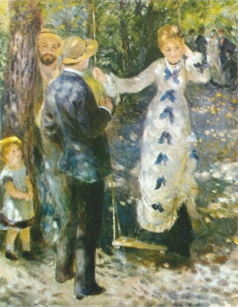 La Balancoire de Auguste Renoir