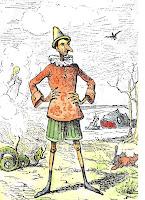 Pinocchio, illustrazione
