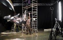 Une nouvelle installation Diffraction d'E REY chez Seconde Nature à Aix du 17/3 au 8/5
