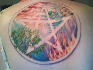 Neopagan ink amazing pentagram for Neo pagan tattoos