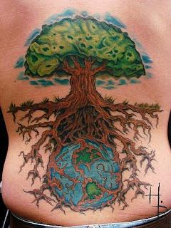 neopagan ink earth tree
