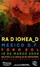 RADIOHEAD EN MÉXICO 2009