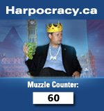 Harpocracy.ca Muzzle Counter