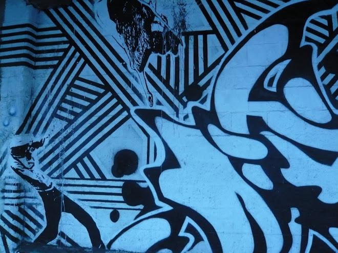 graffiti motif detail