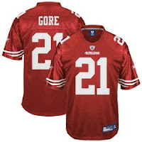 Purchase Your 49ers Frank Gore Jersey Today!